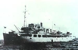 Uss Hydrographer Ca 1944