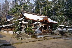Tamba, Hyōgo - Image: Hyozu jinja tamba 02s 3200