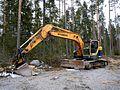 Hyundai 235 LCR-9 excavator.jpg