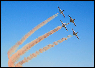 IAF Aerobatic Team - Image: IAF Airo