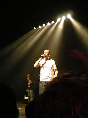 French hip hop - IAM, a prominent group in French hip hop.