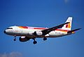 IBERIA Airbus A320-211; EC-FMN@LHR;04.04.1997 (4904357467).jpg