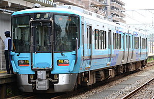 521 series - IR Ishikawa 521 series EMU set IR03, June 2015