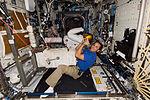 ISS-31 Joseph Acaba with Robonaut 2.jpg