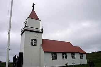 Grímsey - Grímsey Church in June 2008.