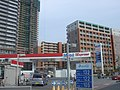 Ichinotsubo intersection(Gas station and tower blocks) - panoramio.jpg