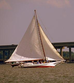 <i>Ida May</i> (skipjack) Chesapeake Bay skipjack, built in 1906 at Urbanna or Deep Creek, Virginia