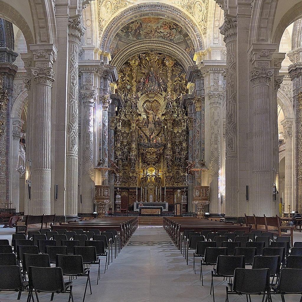 Dans la nef de l'église El Divino Salvador (Divin Sauveur) à Séville. Photo de José Luis Filpo Cabana