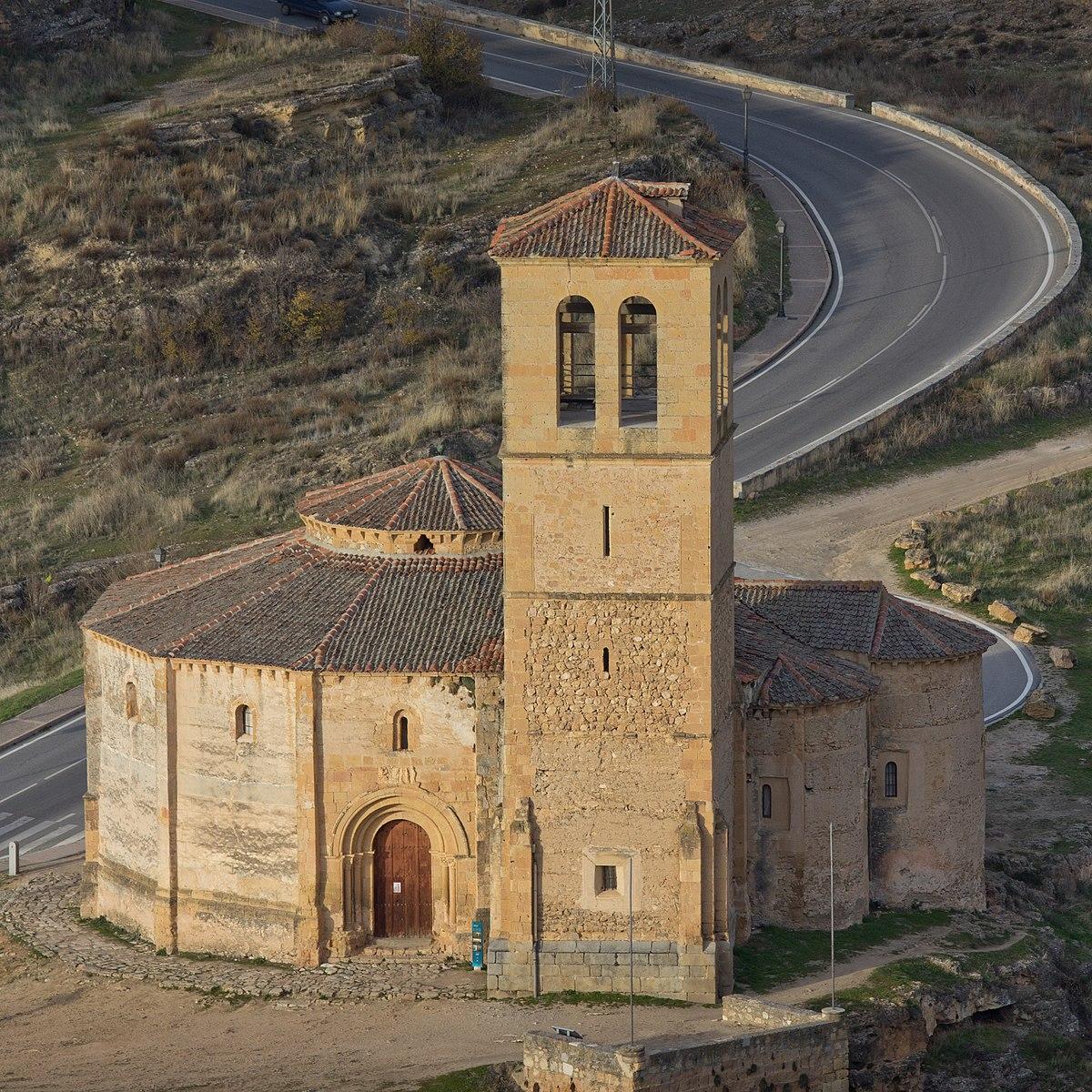 Resultado de imagen de iglesia veracruz torre segovia