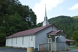 Church of Zion on U.S. Route 52