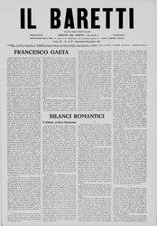 Il Baretti - Anno IV, n. 11-12