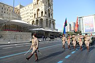 Ilham Aliyev and Recep Tayyip Erdogan attended the parade dedicated to 100th anniversary of liberation of Baku 35.jpg