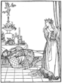 Illustration at page 135 in Grimm's Household Tales (Edwardes, Bell).png
