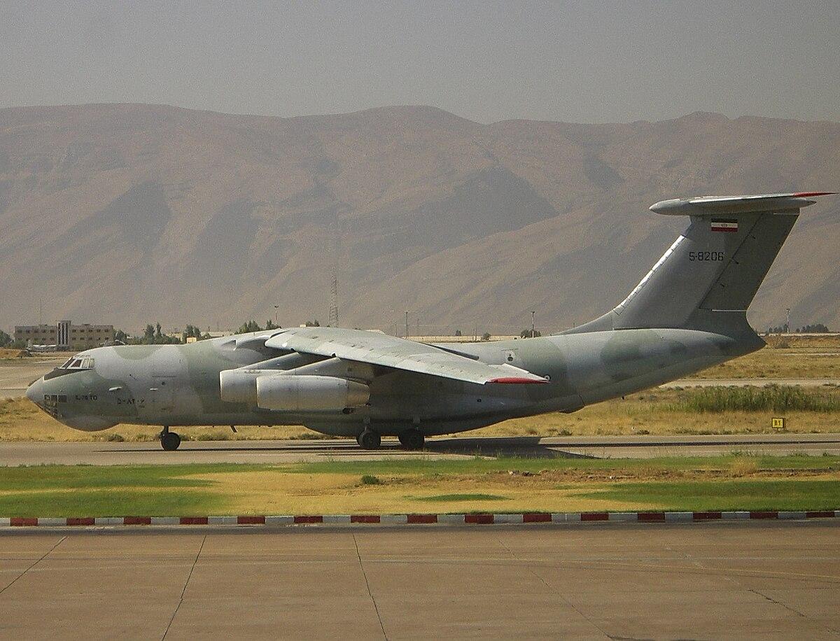 2003 Iran Ilyushin Il-76 crash - Wikipedia