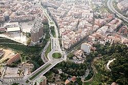 Imatge aèrea d´Esplugues de Llobregat (5369154275).jpg