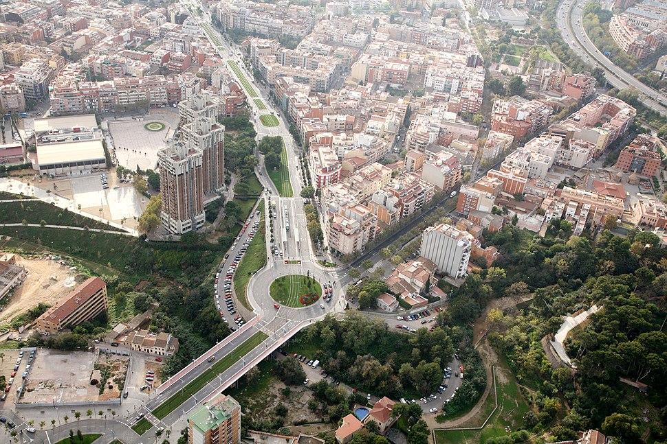 Imatge aèrea d´Esplugues de Llobregat (5369154275)
