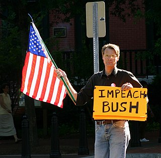 Efforts to impeach George W. Bush