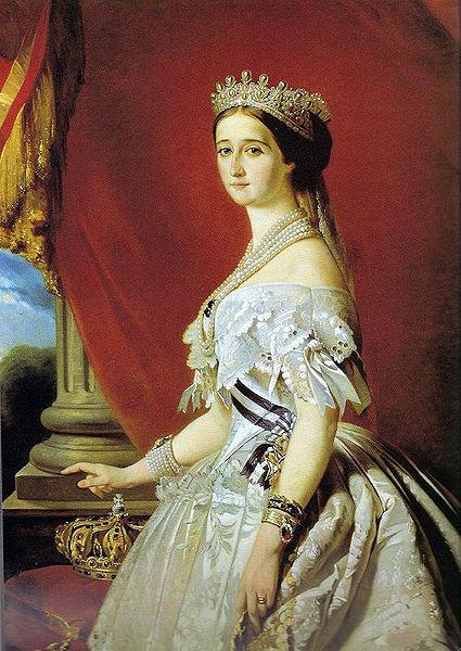Fichier:Imperatrice Eugénie - Winterhalter (detail).jpg
