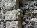 Imposte à rouleau porche abbatiale de Mozac.JPG