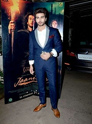 Imran Abbas - Abbas at Jaanisaar screening, 2016