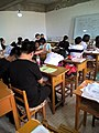 In a extra-curricular tuition class Tieling High School Class 11 Grade 2018 05.jpg