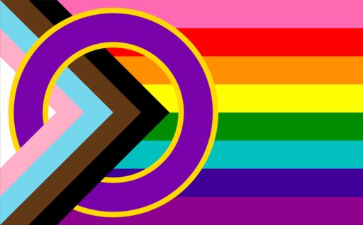 Inclusive Progressive Pride flag