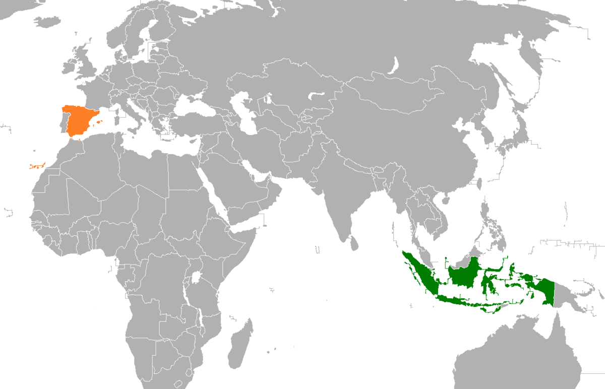 Indonesia Spain Relations Wikipedia