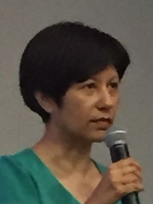 Indranee Rajah - Indranee at an event at SIM University in September 2015