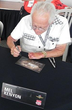 Mel Kenyon - Kenyon at the 2014 Indianapolis 500.
