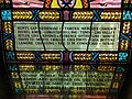 Inscription, stained glass window, Belfast City Hall - geograph.org.uk - 1747587.jpg