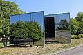 Installation Spiegelwand an der Donaulände in Kleinpöchlarn 04 2015-08.jpg