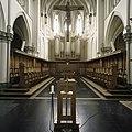 Interieur, overzicht richting het koor met orgel en koorbanken - Heeswijk - 20388724 - RCE.jpg