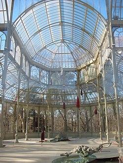 Palacio de cristal del retiro wikipedia la enciclopedia for Arquitectura de interiores madrid