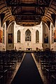 Interior of St Andrew's Anglican Church in Moscow - 01.JPG