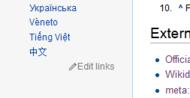 Wikidata screenshot