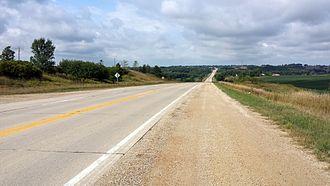 Iowa Highway 44 - Iowa 44 east of Guthrie Center