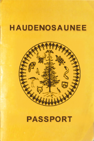 Image result for iroquois passport