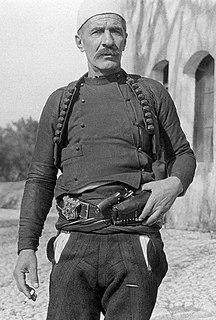 Isa Boletini Albanian commander and politician