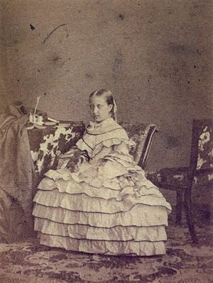 Isabel, Princess Imperial of Brazil - Isabel at age 12, 1858