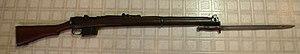 Ishapore 2A1 Enfield with P1907 bayonet
