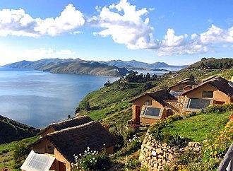 Department of Puno - Suasi Island.