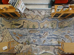Or Torah Synagogue - One of many mosaics inside