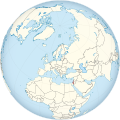 Israel on the globe (de-facto) (Europe centered).svg