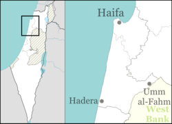 Jisr az-Zarqa is located in Israel