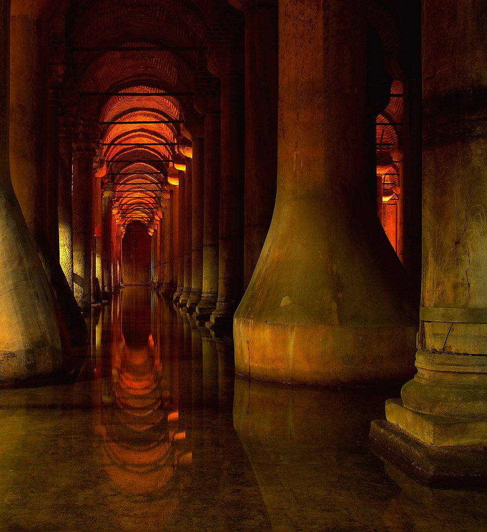 Istanbul Basilica Cistern 2009