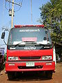 Isuzu Fire engine.front-Thai.JPG