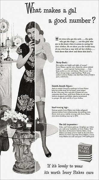 File:Ivory Flakes ad - 1940's.jpg