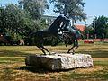 Játszó csikók szobor, Hortobágy 05.JPG