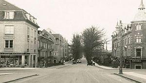 Jægersborg Allé - Jægersborg Allé after the turn of the century