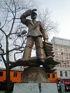 Hans-Albers-Platz Square in St. Pauli, Hamburg, Germany